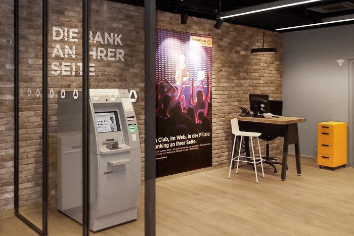 scopio Project Cityfilialen für die Commerzbank