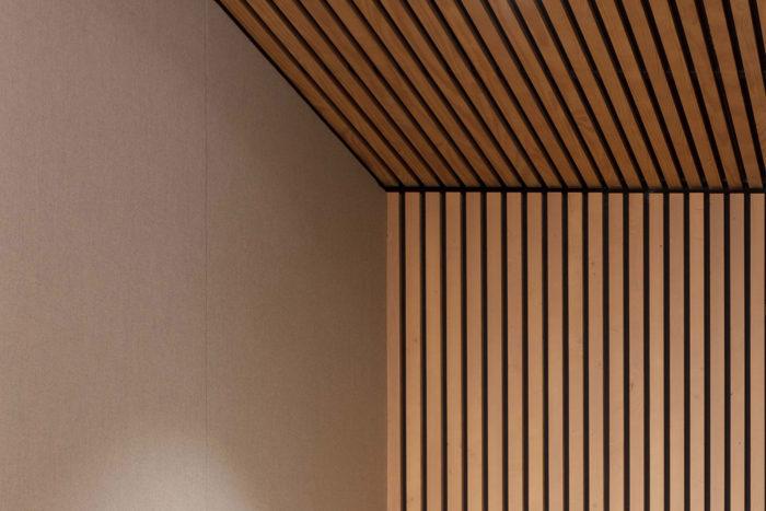 Scopio Projekt Commerzbank Paris Detail: natürliche Materialien
