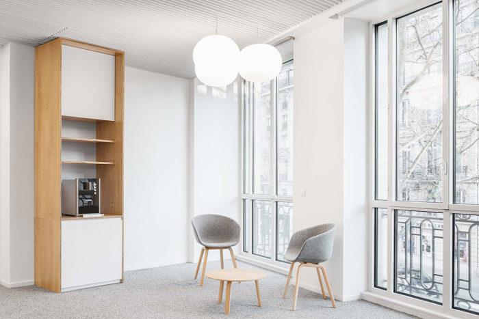 Scopio Projekt Commerzbank Paris Detail: Open Spaces